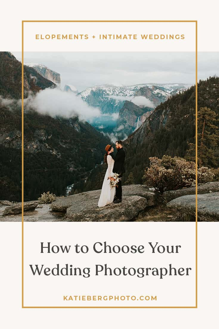 How to Choose Your Wedding Photographer Blog written by Katie Berg Photo