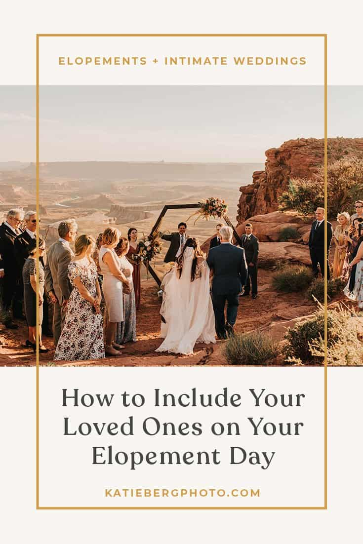 A blog by Katie Berg photo on how to include your loved ones on your wedding day